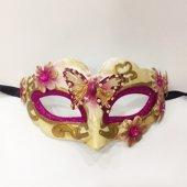 Bayan Mor Parti Maskesi