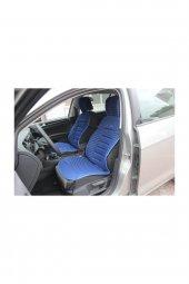 Seat İbiza SPACE BUMERANG Minder 2 li Set Ön Takım MAVİ RENK 2008