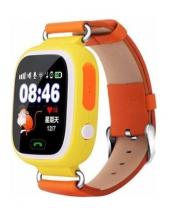 Kakusan Gps Akıllı Saat - Çocuk Takip Saati - Sim Kartlı Arama - Turuncu Q90