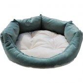 Teknor Soft Kedi & Köpek Yatağı 60X60X22- Su Yeşili