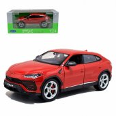 Welly 1:24 Lamborghini Urus Die-cast Model Araba Kırmızı