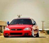 Honda Civic 1996 2001 Arası Elektrikli Katlanır...