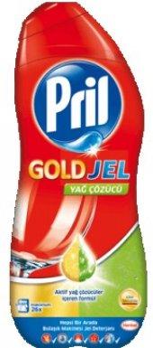 Pril Gold Jel 30 Yıkama 650 ml