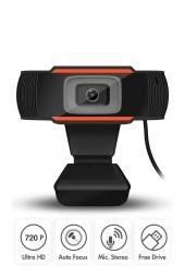 Mikrofonlu Hd Webcam Kamera 720p