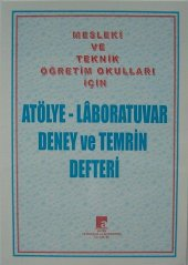 Atölye - Laboratuvar Deney ve Temrin Defteri 80 YP.