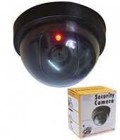 Yanıp Sönen Kırmızı Led Işık ile Kukla Sahte Güvenlik CCTV