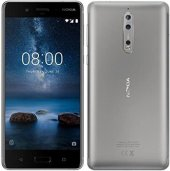 Nokia 8 64 Gb Gümüş Cep Telefonu Teşhir