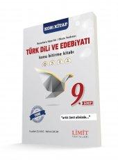 9. Sınıf Türk Dili ve Edebiyatı Konu Bitirme Kitabı