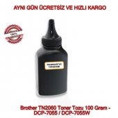 Brother Tn2060 Toner Tozu 100 Gram Dcp 7055 Dcp 7055w