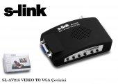 S-link sl-av215 Video Bnc To Vga Converter