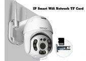 Everest Siyah Df 804w 2.0 Mp Hd Lens 3.6mm Ip Smart Wifi Network Tf Card Güvenlik Kamerası Yoosee