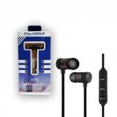 Bluetooth Kulaklık Spor Siyah Renk Kablosuz