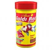 Ahm Balık Yemi Renk Canlandırıcılı Goldı Red 100ml-250ml Seçenekli