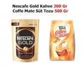 Nescafe Gold Kahve 200 Gr + Coffe Mate 500 Gr Süt
