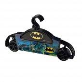 4 Lü Batman Siyah Çocuk Kıyafet Askısı Bebek...