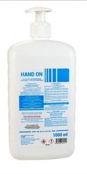 Equinox Hand On Pompalı Sıvı El Dezenfektanı 1000 ml