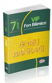 EDİTÖR 7.SINIF VIP FEN BİLİMLERİ SORU BANKASI