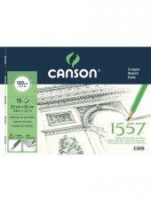 Canson 1557 Eskiz Defteri 120 gr. Yandan Spiralli 25*35 cm 15 Sayfa