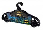 Tuffex- Batman Siyah Çocuk Elbise Askısı 4 Adet