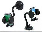 Araç İçi Vantuzlu Telefon Tutucu Güçlü Kilit Vantuzlu Akrobatik Gövde (Universal)