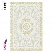 Kartela Prag Dokuma Baskı Halı 12-101 (100x150)