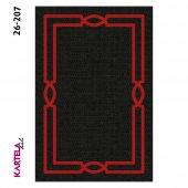 Kartela Anka Dokuma Baskı Halı 26-207 (80x280)