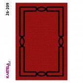 Kartela Anka Dokuma Baskı Halı 26-209 (80x200)