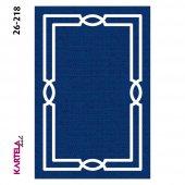 Kartela Anka Dokuma Baskı Halı 26-218 (100x200)