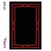 Kartela Nil Dokuma Baskı Halı 27-207 (80x200)