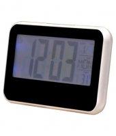Sese Duyarlı Masa Saati Dijital Termometre Isı Sıcaklık Ölçer