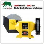 Sulu Çark Taş Motoru 250 W Profesyonel Seri 200 Mm