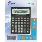Tima Ta-120 Hesap Makinesi Ofis Masaüstü 12 Haneli Digital