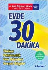 Tudem Yayınları 4. Sınıf Evde 30 Dakika Türkçe Matematik Fen Bilimleri Hayat Bilgisi Soru Ev Çalışması