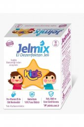 Jelmix Tek Kullanımlık El Dezenfektan Jeli Kids