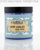 Cadence Gece Mavi - Very Chalky Mobilya Boya 500 ml