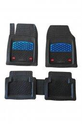 Seat Toledo 1998-2004 Mavi Krom Destekli 4D Paspas