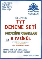 Çöz Kazan Yayınları TYT 5 li Deneme Seti