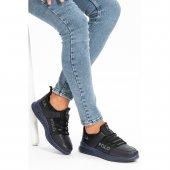 L.A. Polo 110 Lacivert Renk Lacivert Taban Sneaker Erkek Spor Ayakkabı