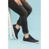 Filling Polo 015 Lacivert Renk Beyaz Taban Spor Sneaker Erkek Ayakkabı