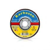 Karbosan Alüminyumoksit Konik Flap Disk 180X22.23 60 Kum (10Lu)