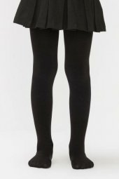 Penti Pretty Ekstra Cotton 90 Den Çocuk Külotlu Çorap Siyah (500)