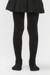 Penti Pretty Bambu Çocuk Külotlu Çorap Siyah (500)