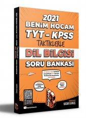 Benim Hocam TYT KPSS Taktiklerle Dil Bilgisi Soru Bankası