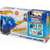 Hot Wheels Track Builder Fırlatıcılı Yarış Seti