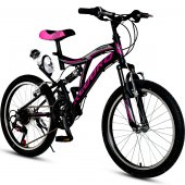 Kldoro Kd 020 20 Jant Bisiklet 21 Vites Çift Amortisör Kız Çocuk Bisikleti