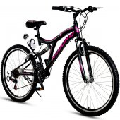 Kldoro Kd 032 24 Jant Bisiklet 21 Vites Çift Amortisör Kız Dağ Bisikleti