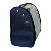 Flipper Kedi Köpek Taşıma Sırt Çantası 23*37*40 cm Koyu Mavi