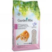 Garden Mix Pudra Kokulu İri Taneli Bentonit Kedi Kumu 10 lt