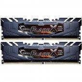 GSKILL Flare X 32GB (2x16) DDR4 3200Mhz CL16  AMD Ryzen Uyumlu 1.35V (F4-3200C16D-32GFX)