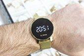 Ferrucci Unisex Kol Saati Altın Renk Hasır Kordon FCG11102H.04